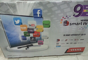 Spot Vestel 3D 47PF9060 Led Tv